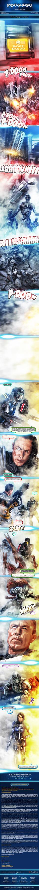 Marauder Shields 59: The Big Bang (Version A) by koobismo