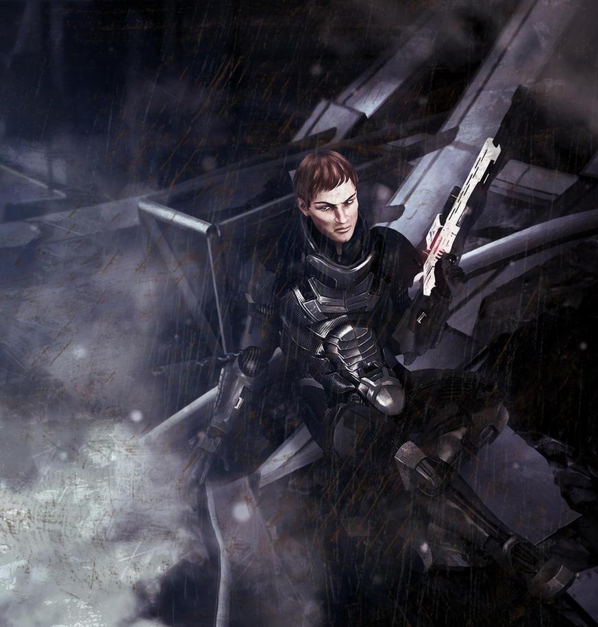Mass Effect Live Wallpaper: Flynn Silvers From Mass Effect: The Last Stand By Koobismo