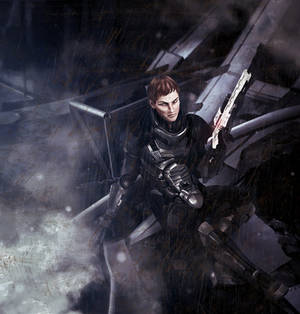 Flynn Silvers from Mass Effect: The Last Stand
