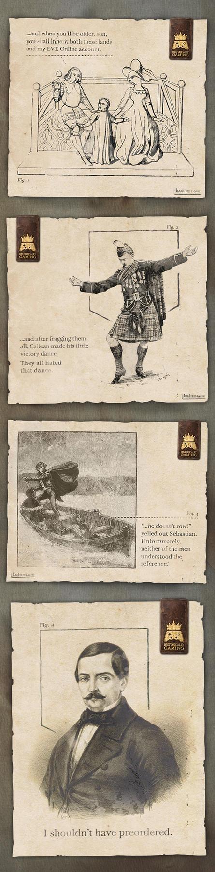 Historically Gaming, Set One by koobismo