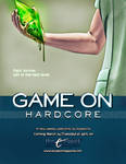 'Game On, Hardcore' - coming March 24! by koobismo