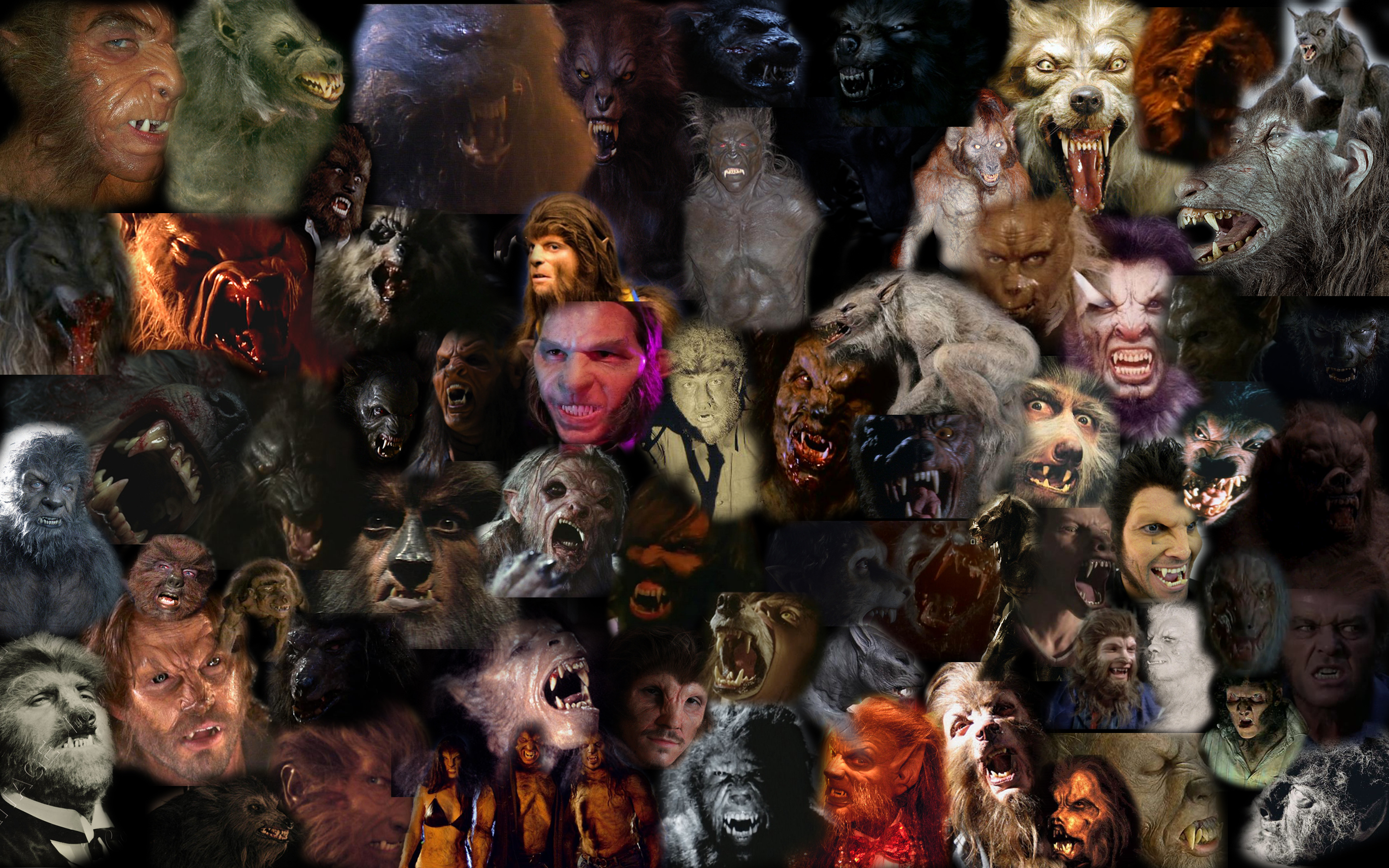 A history of werewolves in film. by chowduke on DeviantArt