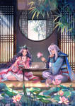 Commission: Talon and Janna
