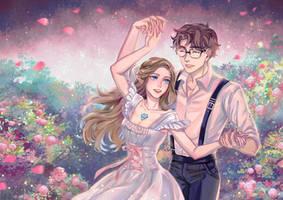 Commission: Twilight  dance