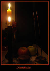 Samhain altar by Pagan-And-Proud