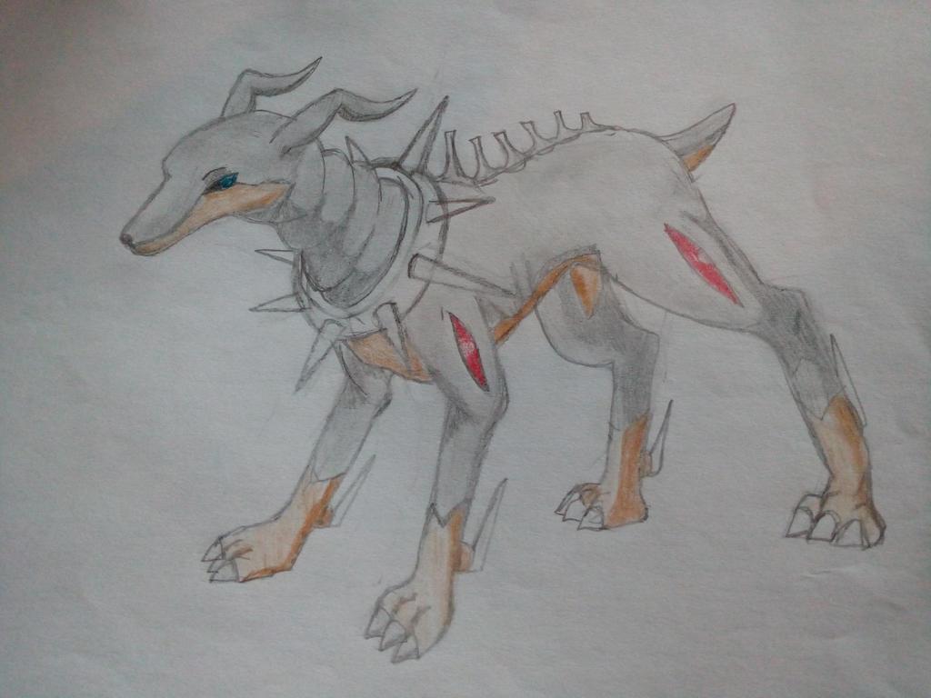Dobermon by FlamedMoonwolf
