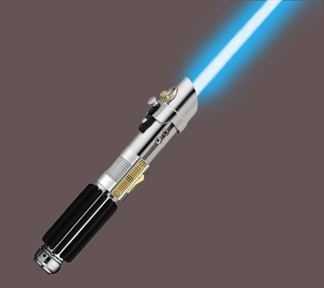 Kalin's Jedi Lightsaber by Cascador