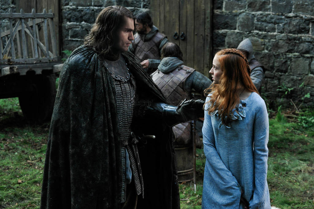 Sandor and Sansa by Cascador on DeviantArt