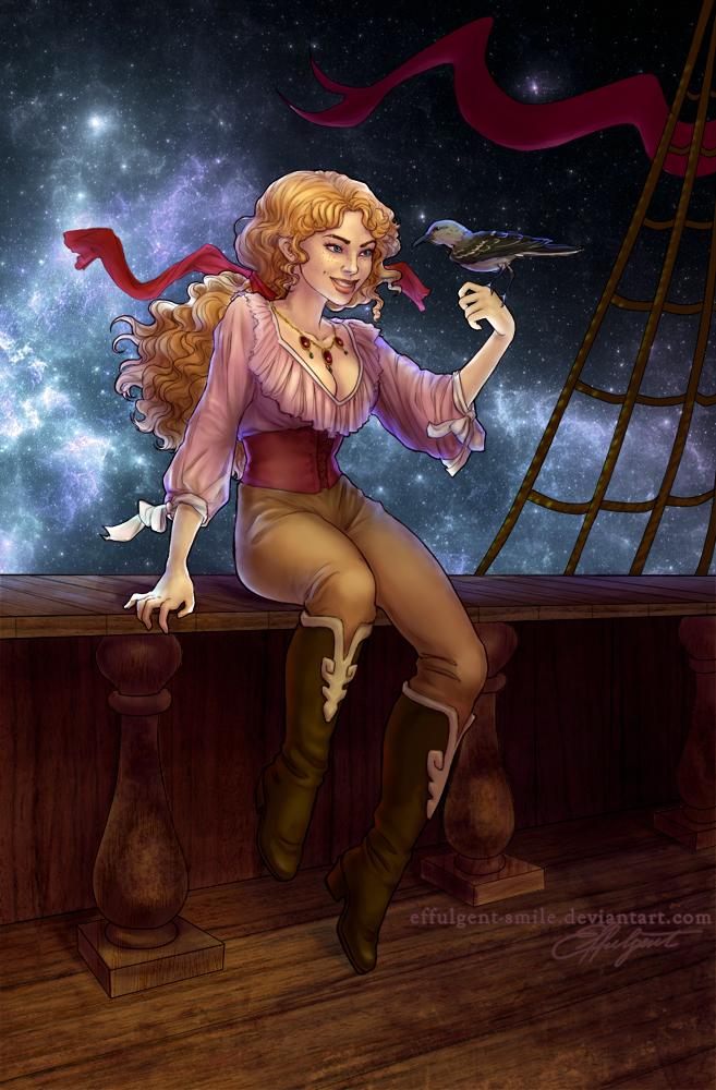 Ruby The Mockingbird by effulgent-smile