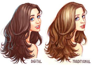 Digital vs. Traditional