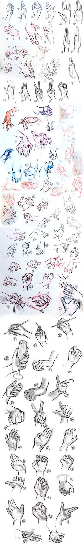 100 Hands Challenge