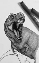 Rexy - Jurassic Park