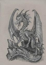 Original Dragon Drawing