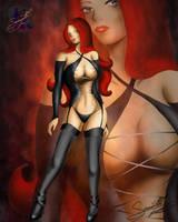 The Scarlet Red Head by sammacha