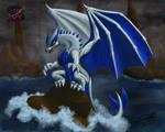 Dark tide - Dragon Lugia by sammacha