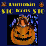 Adorable pumpkin icons $10+ for donations