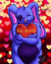 Be Mine Usagi by sammacha
