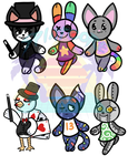 Animal Crossing Villager Adopts  OPEN