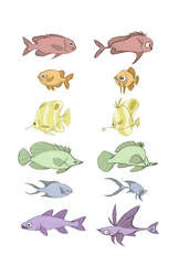 Rainbow fish by Polarkeet