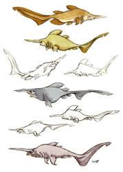Goblin Shark by Polarkeet