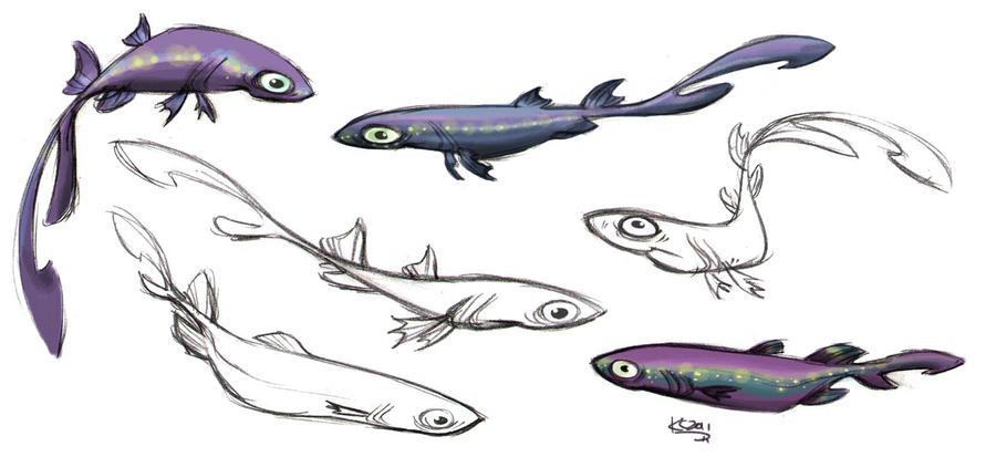 Velvet Belly Lantern Shark by Polarkeet on DeviantArt