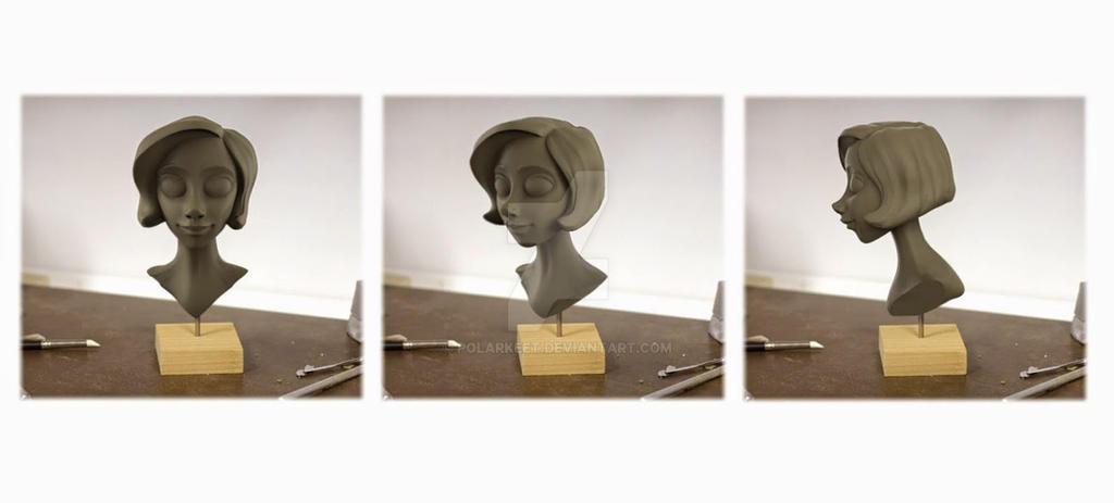 Keyshot Bust by Polarkeet