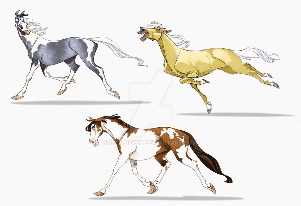 Horses by Polarkeet