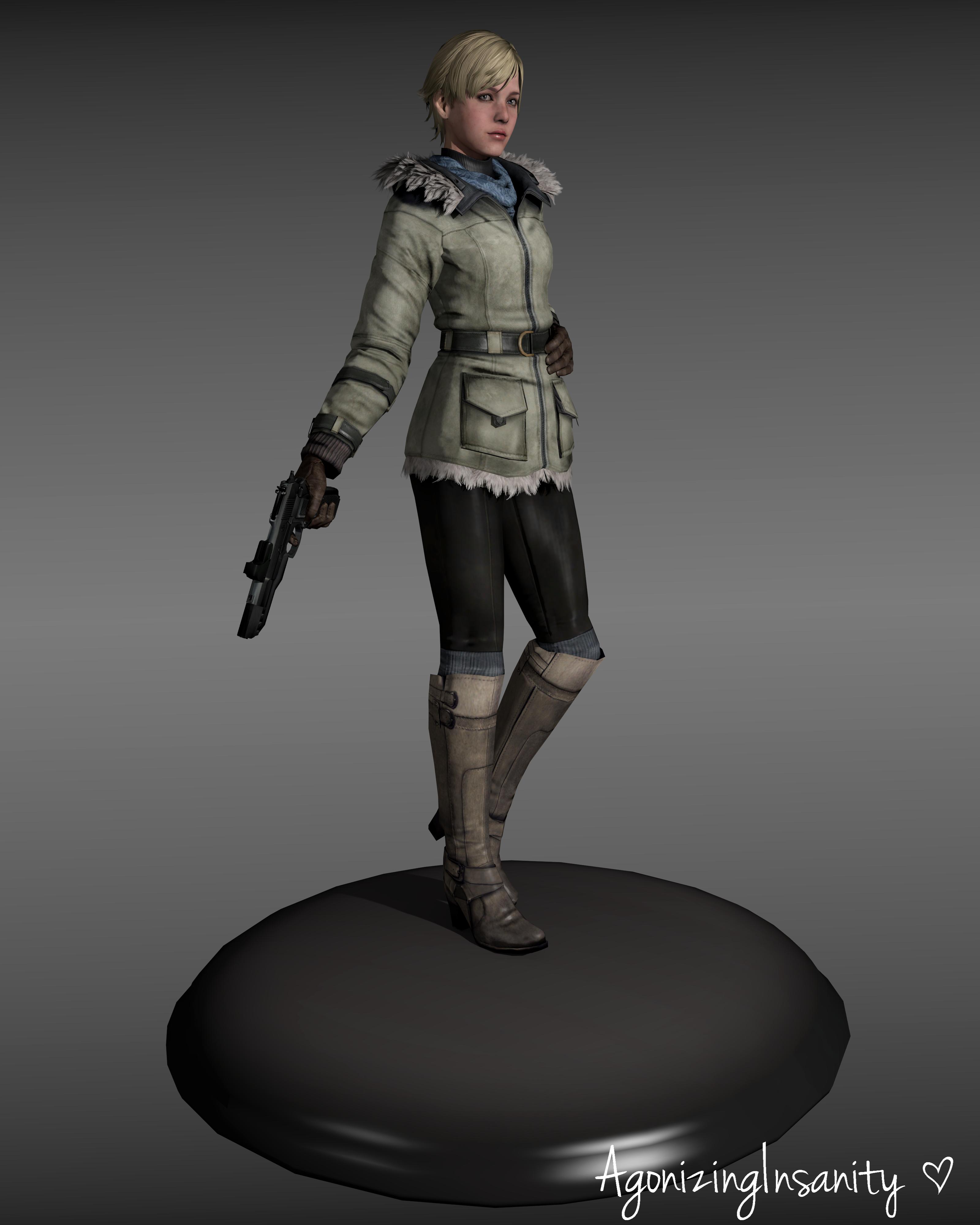 Sherry Birkin Resident Evil By Agonizinginsanity