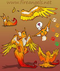 Fireangels Feuertierchen by Mondfalke