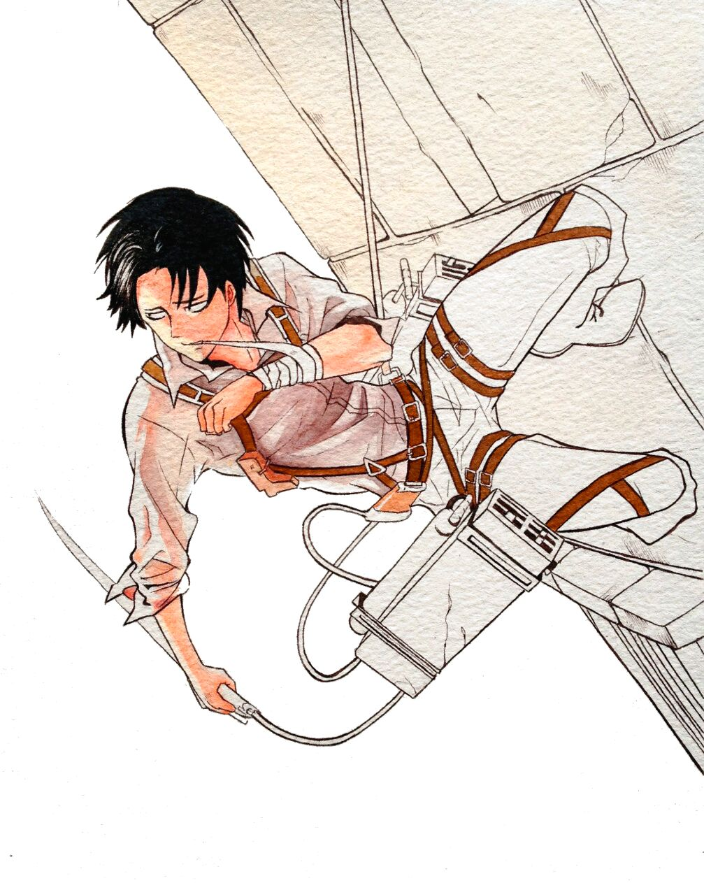 Levi: wip by justsomeperson1920