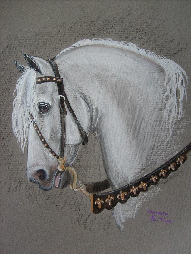 Medieval war horse by echdhu on DeviantArt