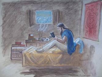 the Reader by echdhu