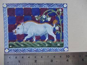 Medieval Boar