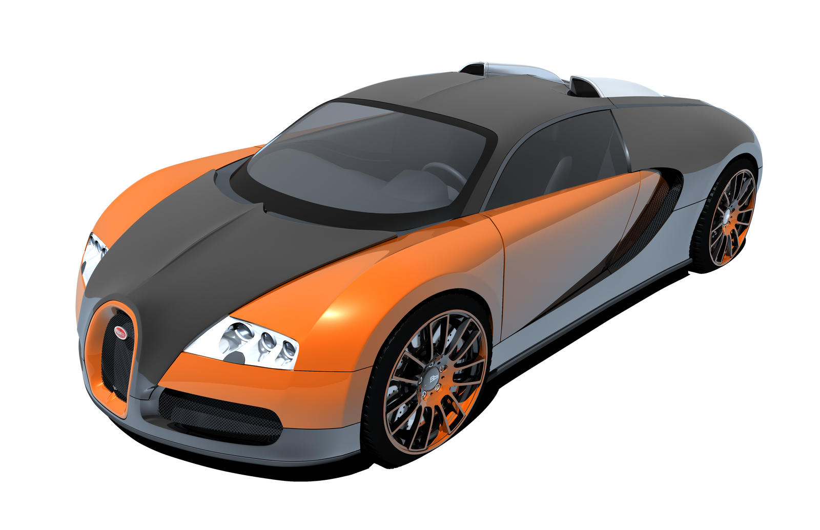 portfolio bugatti veyron front view by shadowcommander720. Black Bedroom Furniture Sets. Home Design Ideas