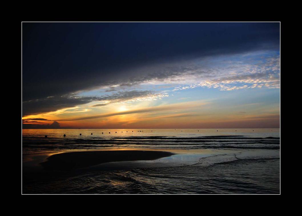 Sunrise at Koh Samui by millamus on DeviantArt