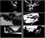 Black and White Composition Sketches