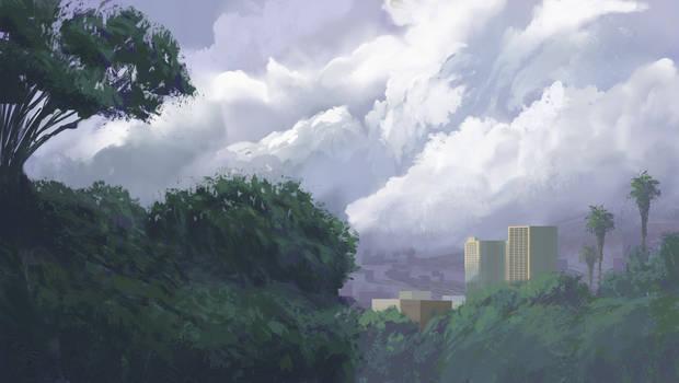 Plein Air: Cloudy Day