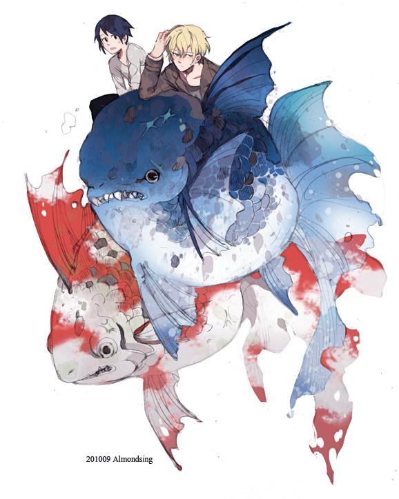Colors fish II by Nios54