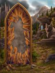 Eluvian Landscape by LadySunderlyn