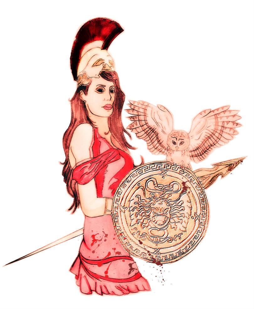 Greek mythology athena
