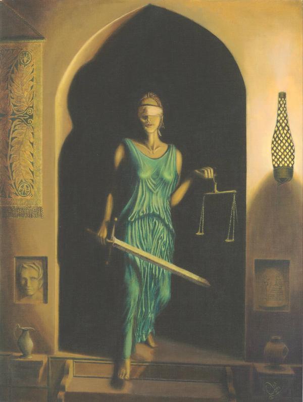 Lady Justice by OdinGalen on DeviantArt