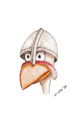 Medieval chicken