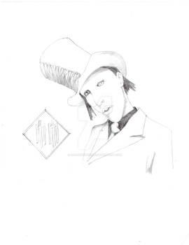 Marilyn Manson sketch 1