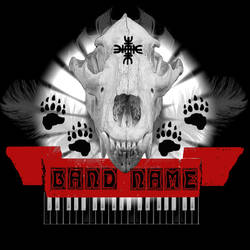 Grizzly Skull T-Shirt Design or CD Cover