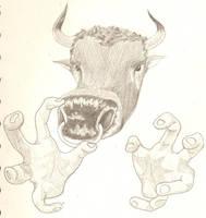 Crazy Bull sketch