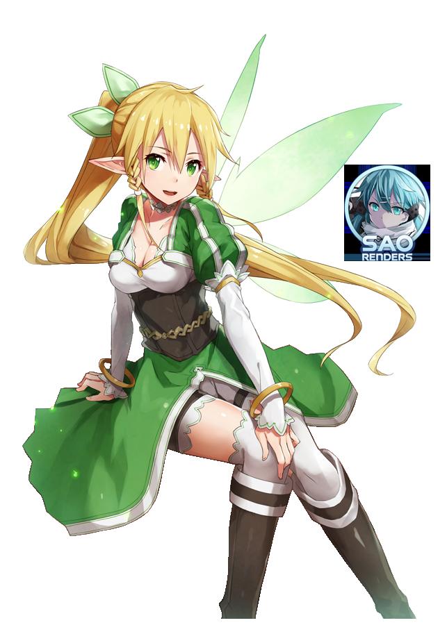 Sword Art Online 39 S Leafa Render By Saonline On Deviantart