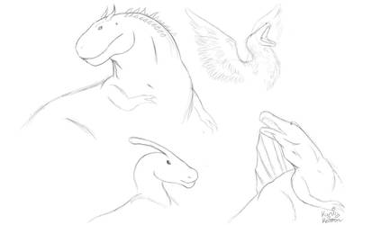 Dinosaur Sketches