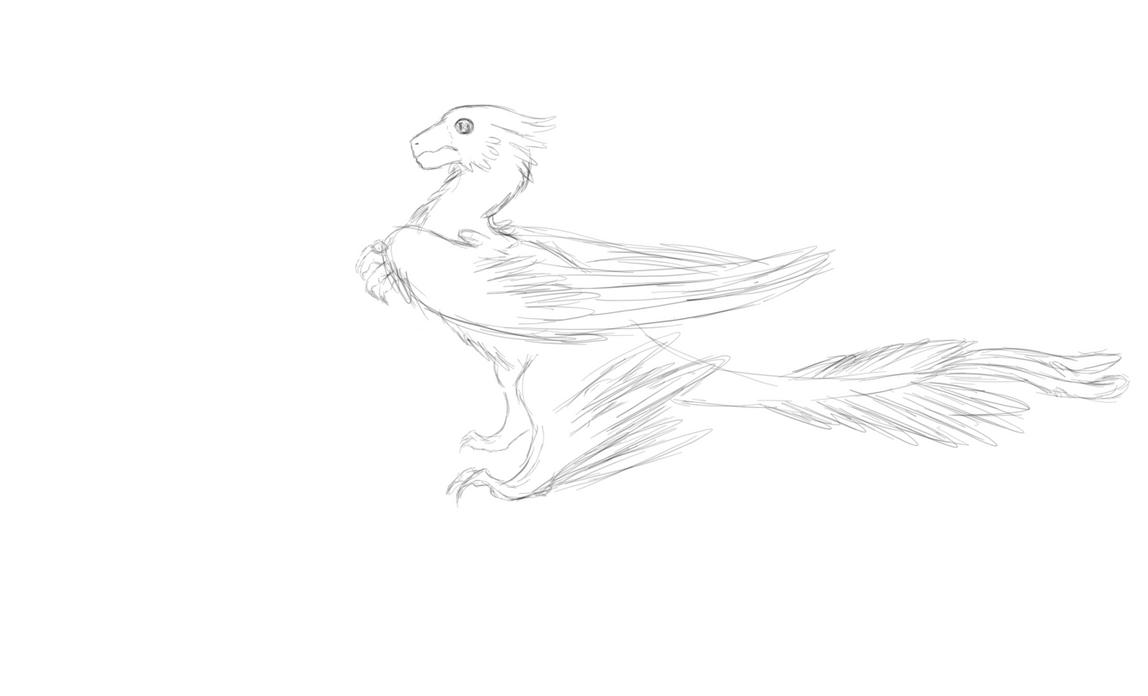 Microraptor by KumiKeitorin