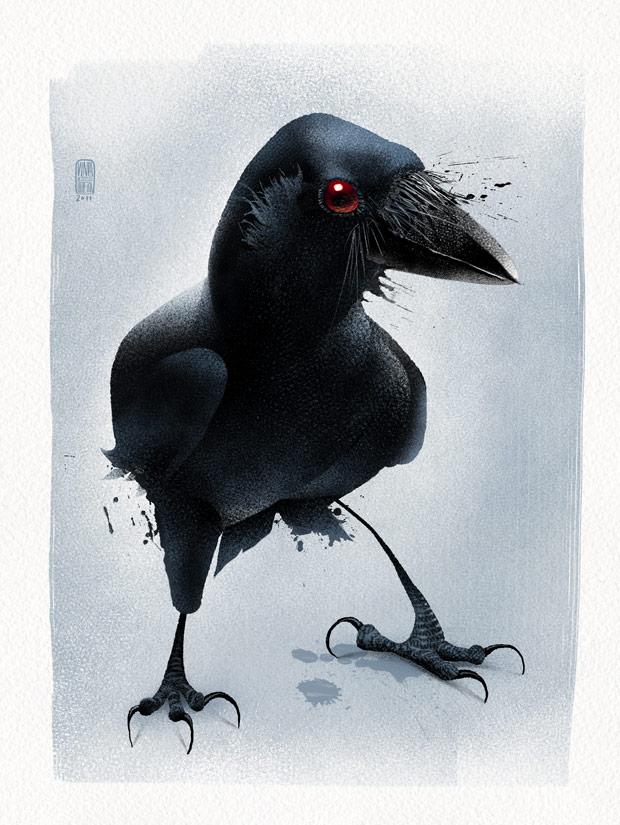 Crow by nuvem