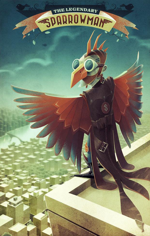 The Legendary SparrowmaN by nuvem